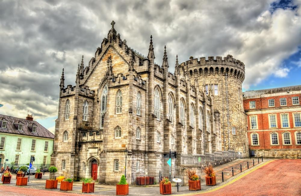 アイルランド ダブリン城