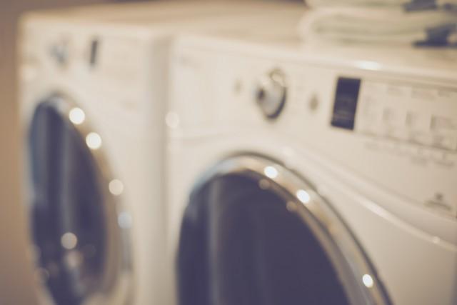 寮の洗濯機