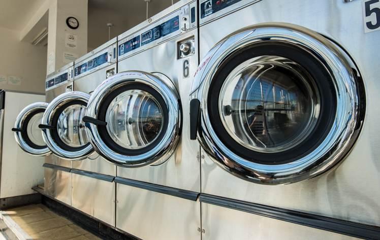 ホームステイ先での洗濯