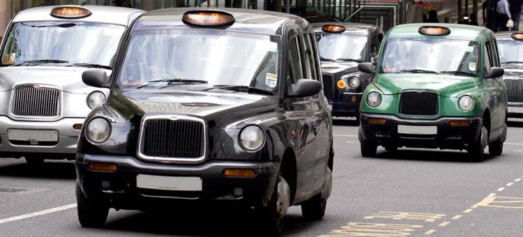 イギリスのタクシー