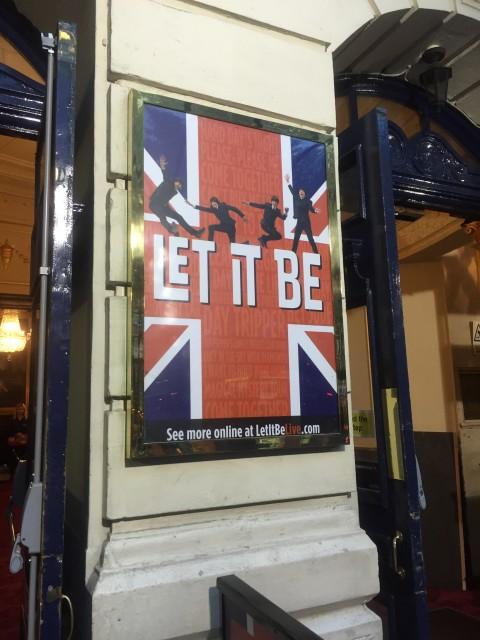 ロンドンにあるポスター