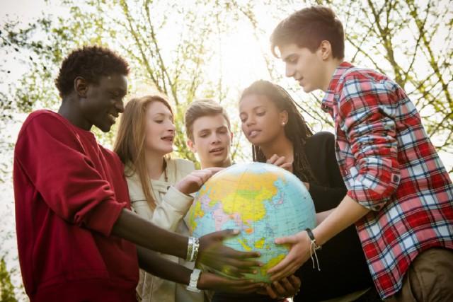 オーストラリアの語学学校の生徒