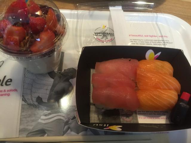 ロンドンでの日本食