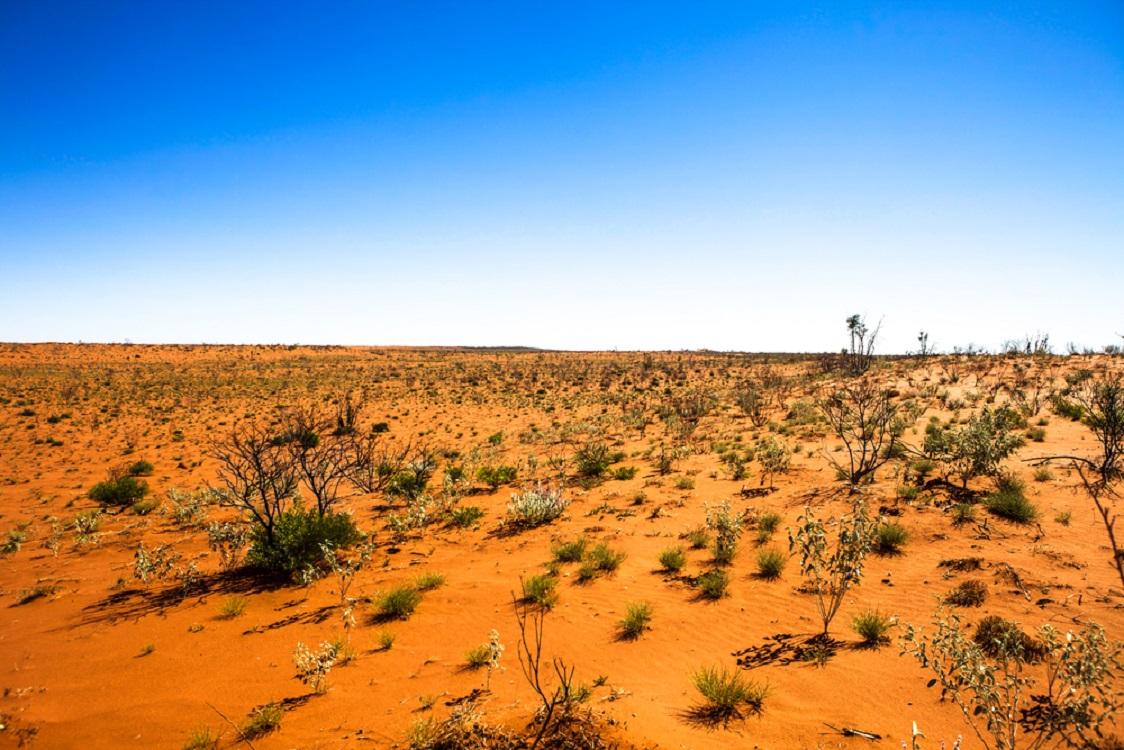 オーストラリアの砂漠