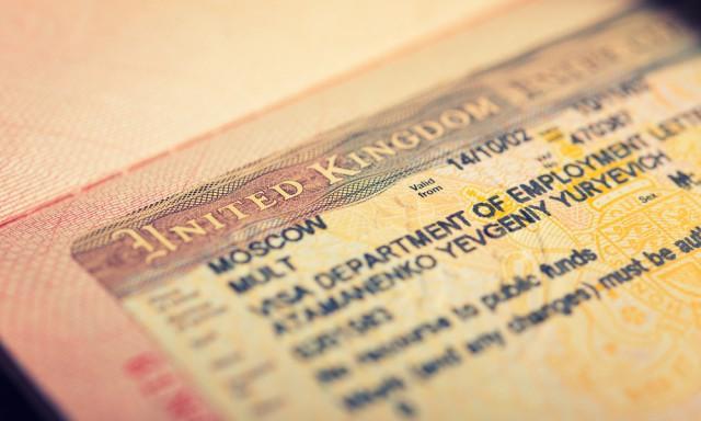 イギリス留学のビザ