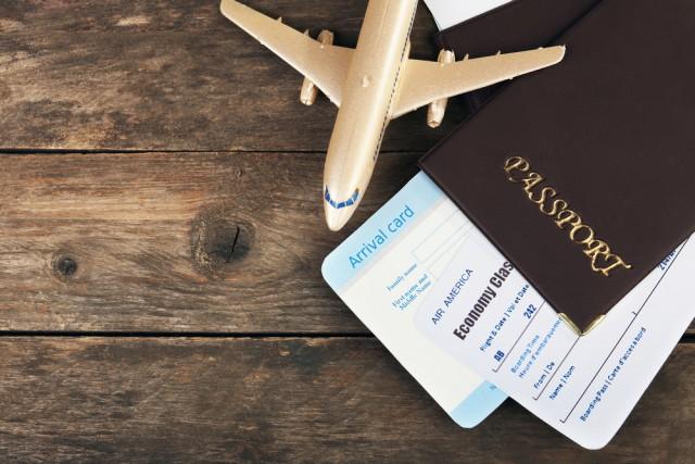 留学のための航空券