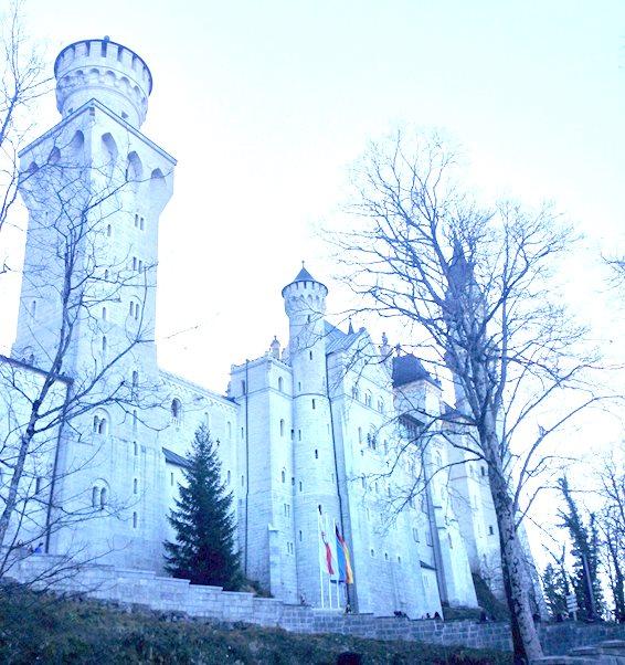 ドイツ ミュンヘンのお城