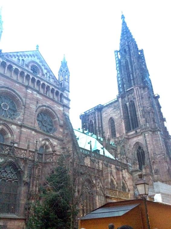 フランスのストラスブール大聖堂