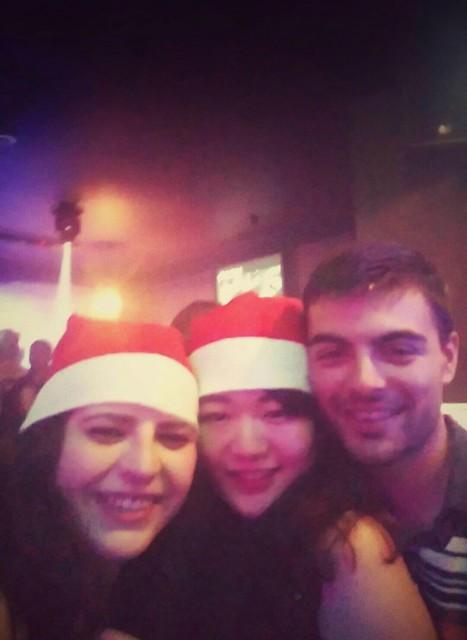 留学中のクリスマス