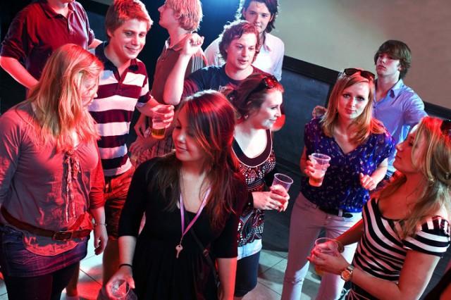 大学のパーティー