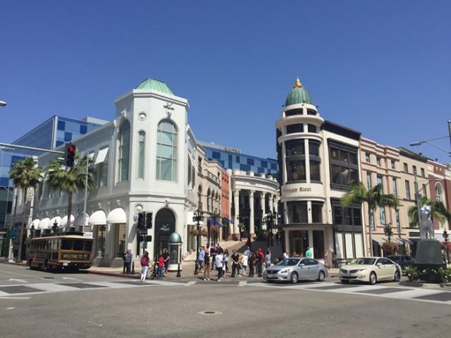 アメリカ ロサンゼルスの風景