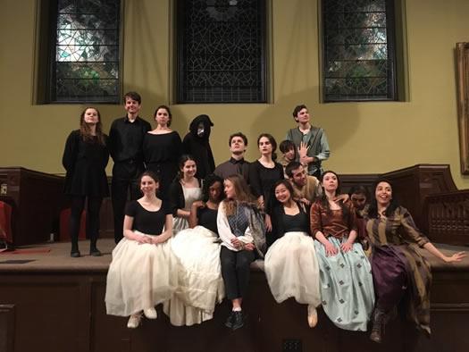 アメリカ留学中の演劇の授業