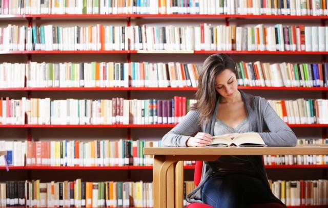 大学院の図書館