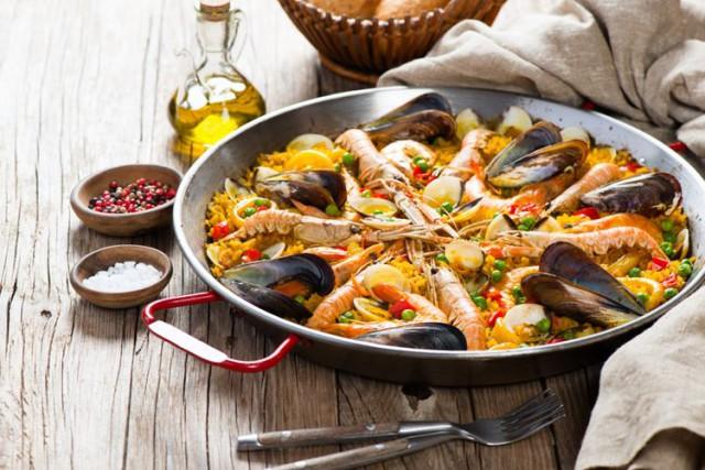 スペイン料理 パエリア