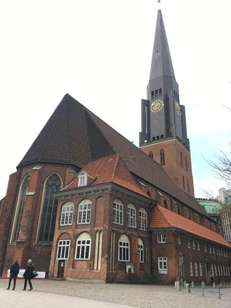 ドイツ ハンブルクの聖ヤコブ教会