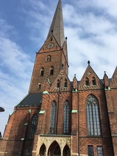 ドイツ ハンブルクの聖ペトリ教会