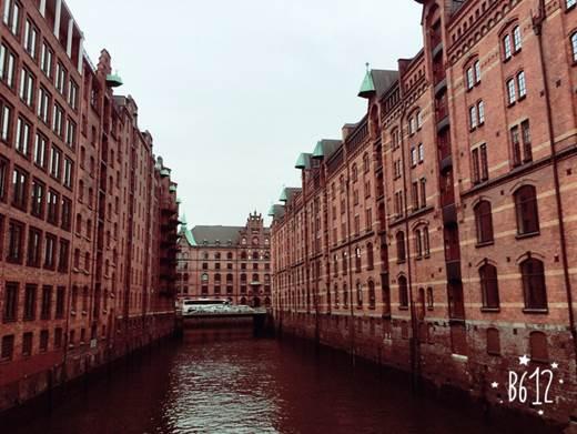 ドイツ ハンブルクの倉庫街