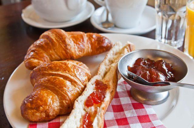 フランスの朝食