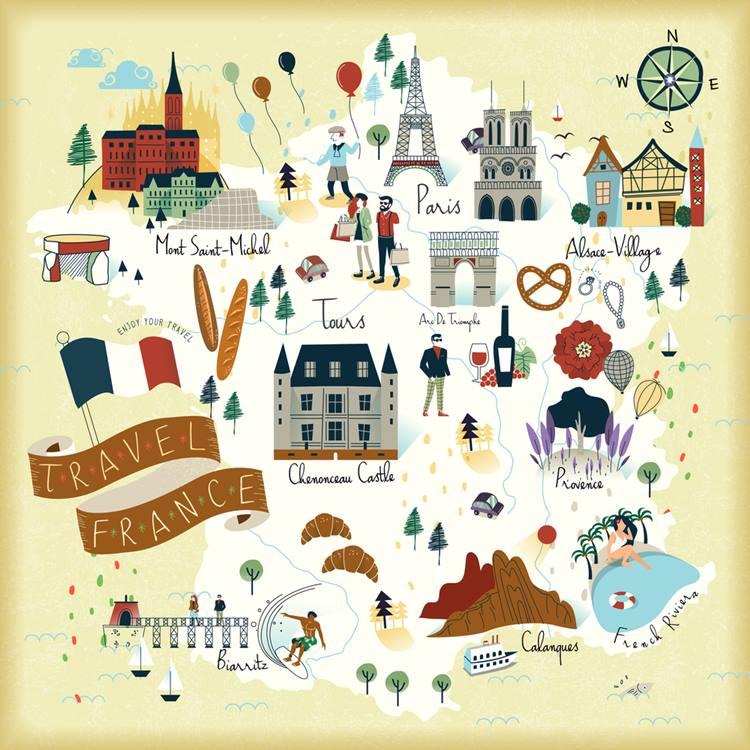 フランス留学で人気の都市