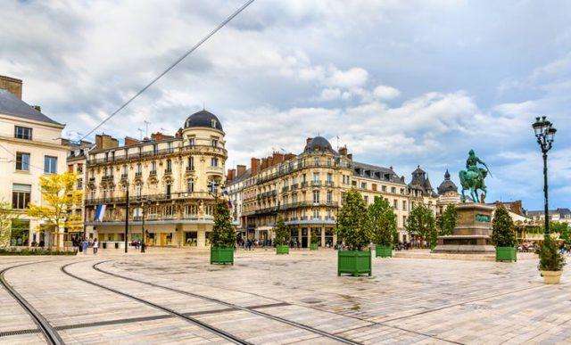フランスのロワール地方で留学