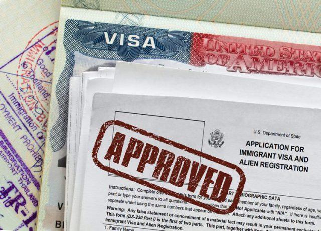 アメリカの学生ビザ申請