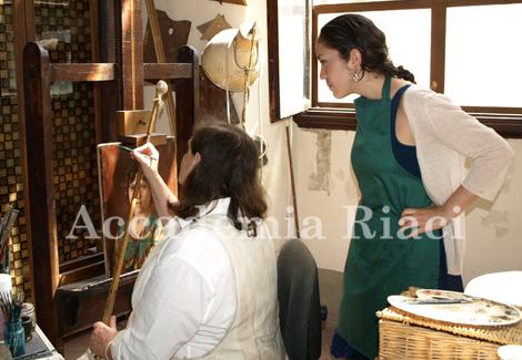 イタリア留学 工房体験