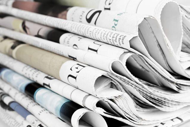 フランスの新聞