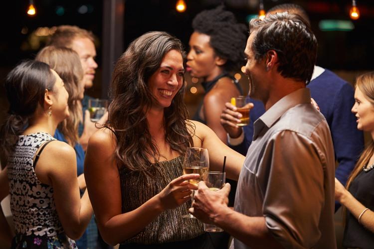 アメリカ留学中のパーティ