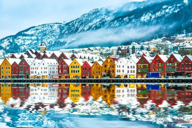 ノルウェーでワーキングホリデー