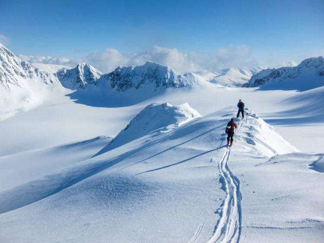 ノルウェーで登山