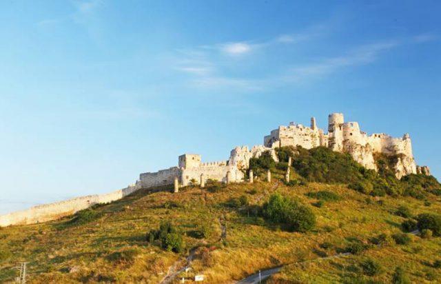 スロバキアのお城