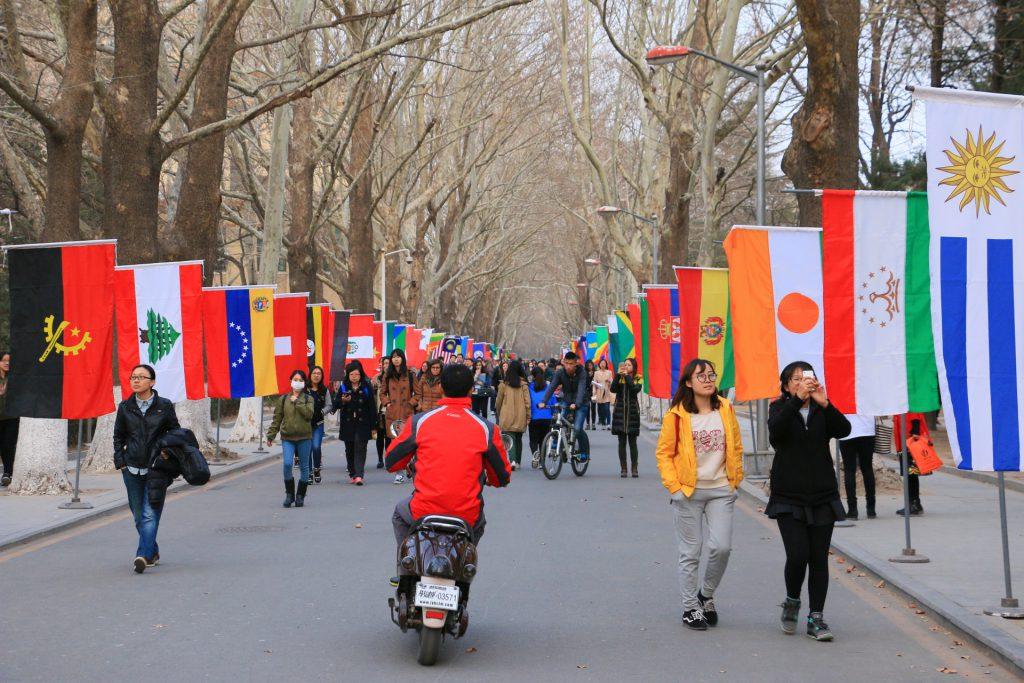 北京語言大学のキャンパス