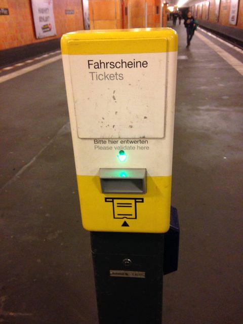 ドイツの鉄道 validation