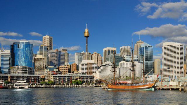 オーストラリア シドニータワー