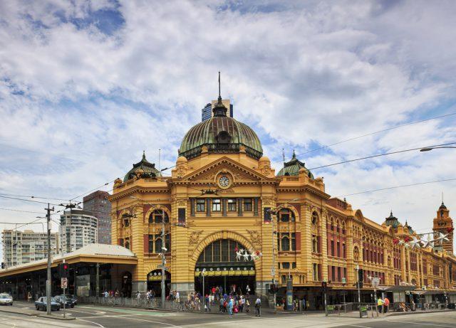 オーストラリア シドニーのフリンダースストリート駅