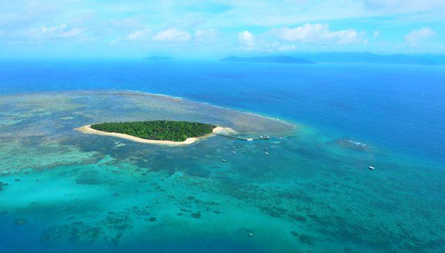 オーストラリア ケアンズのグリーン島