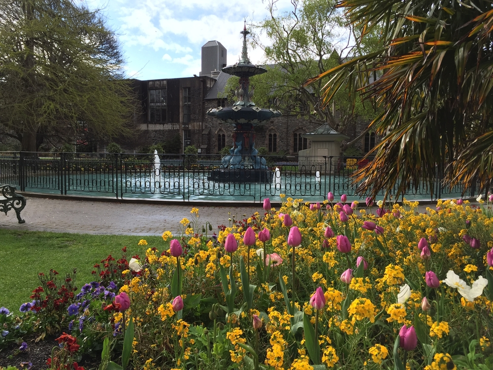 ニュージーランド クライストチャーチ植物園
