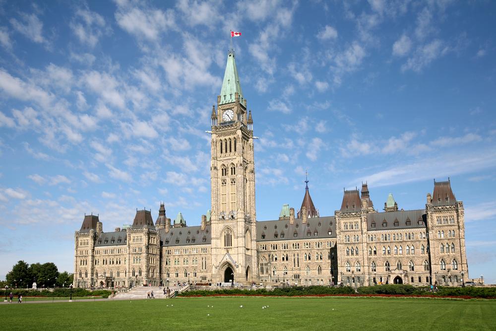 カナダ オタワの国会議事堂