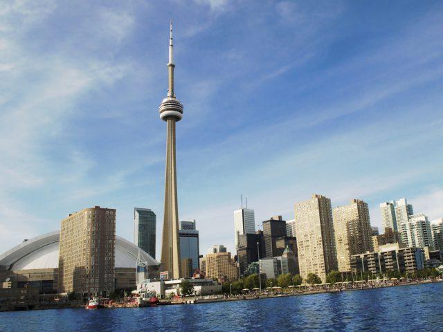 カナダ トロントのCNタワー