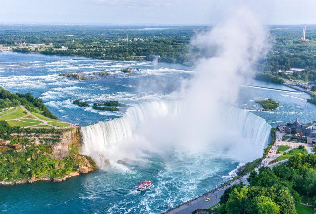 カナダ トロントのナイアガラの滝