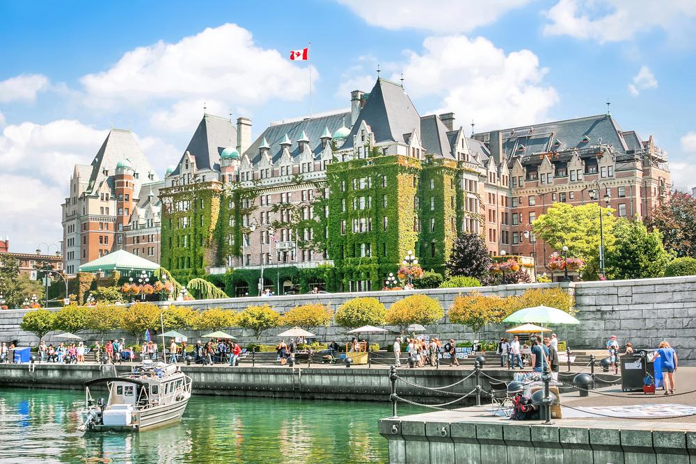 カナダ ビクトリアのインナー・ハ-バー