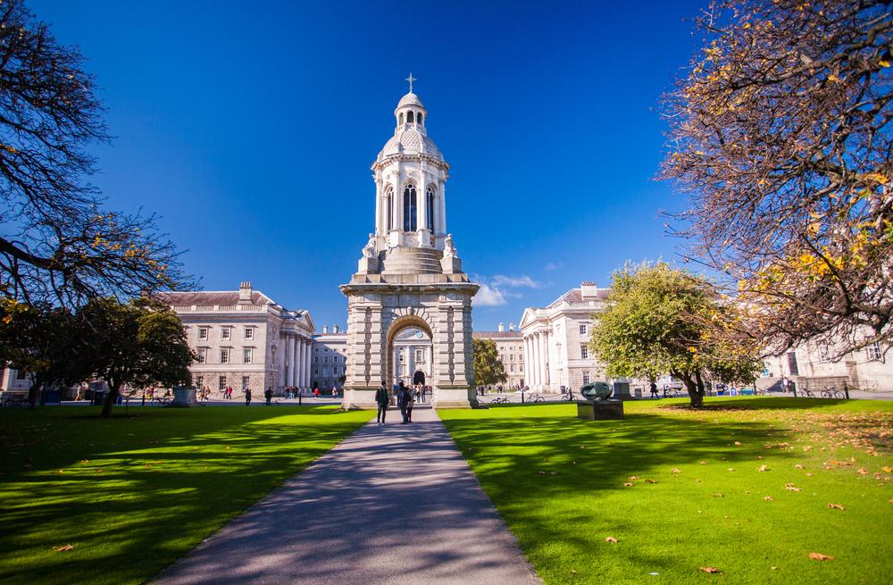 アイルランド ダブリン トリニティ・カレッジ