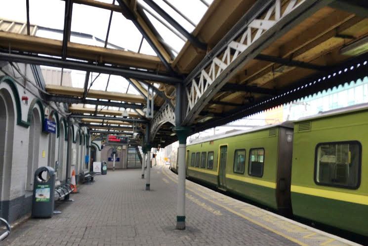 アイルランドの電車