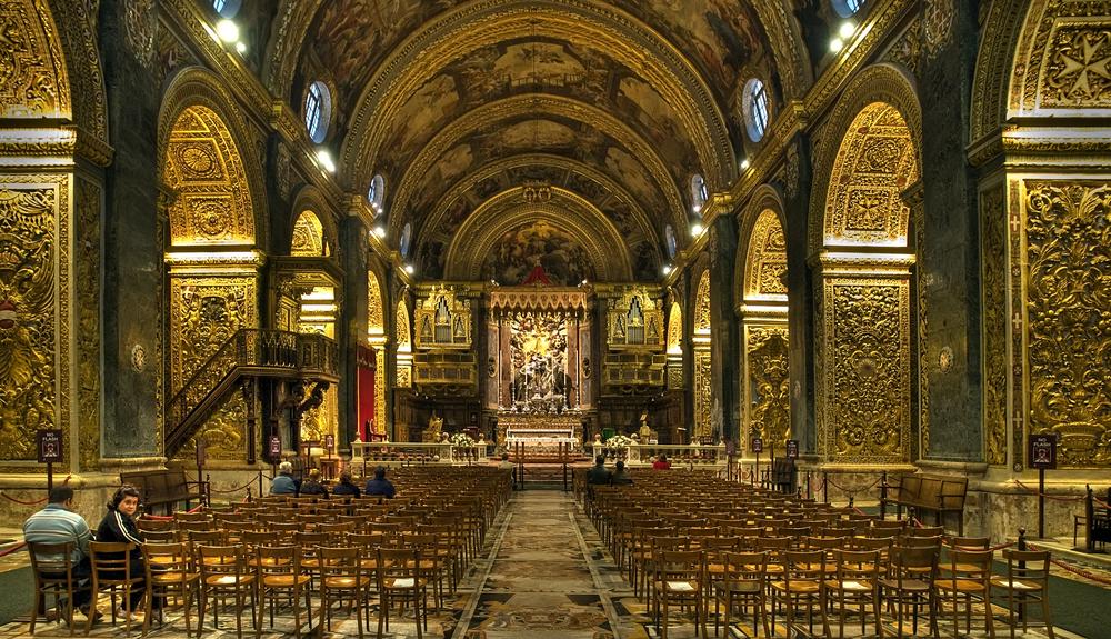 マルタ バレッタの 聖ヨハネ大聖堂