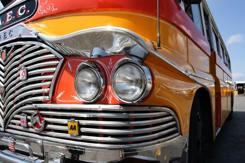 マルタ バレッタの バス