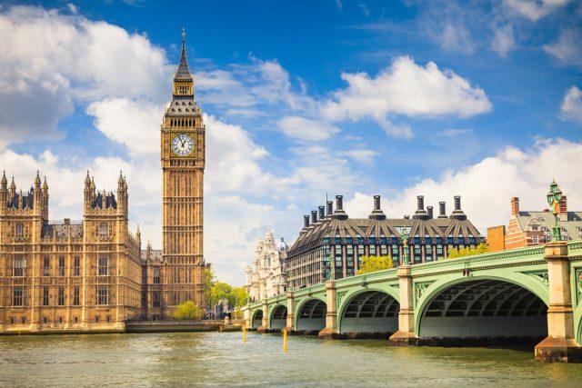 イギリス ロンドンの ビッグベン