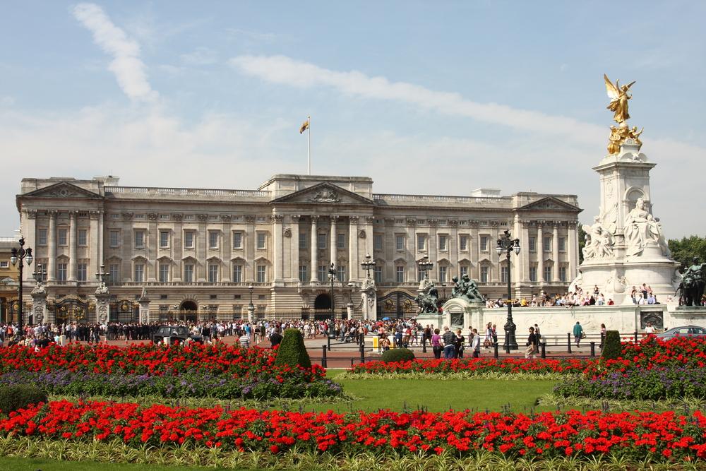 イギリス ロンドンのバッキンガム宮殿