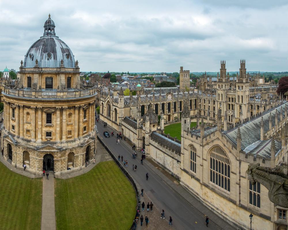イギリス オックスフォード大学にあるラドクリフカメラ