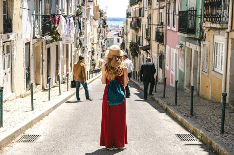 ポルトガル リスボンの町並み