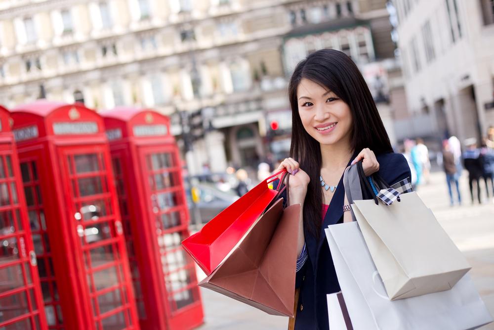 ロンドンでショッピング